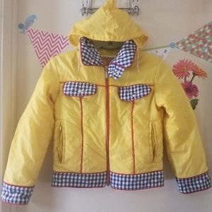 THIS hot gear Insulated Plaid Floral Hoodie Jacket